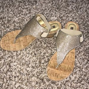 Adorable Wedge Sandals 💛 NEVER BEEN WORN